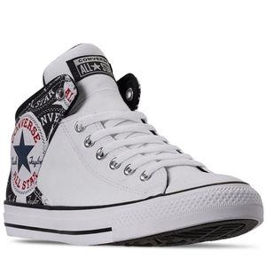 Converse Chuck Taylor -All Star White Mid High Str